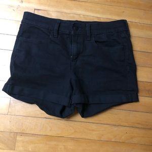 Old Navy Black Jean Shorts